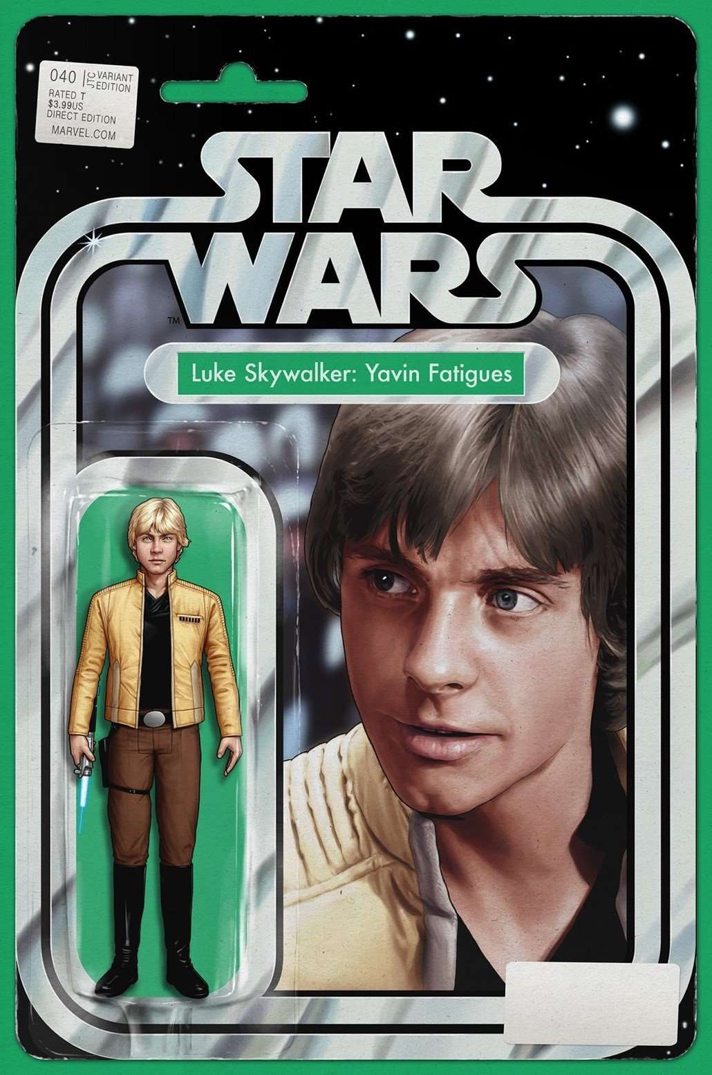 Star Wars #40 action figure variant, Luke Skywalker: Yavin Fatigues