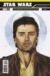 Star Wars #43 Galactic Icons, Poe Dameron