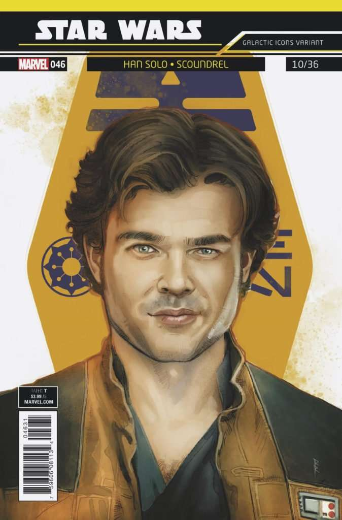 Star Wars #46 Galactic Icon, Han Solo