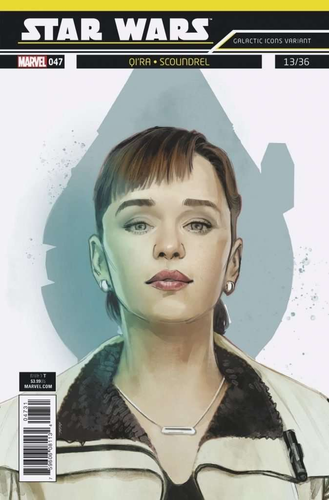 Star Wars #47 Galactic icon variant