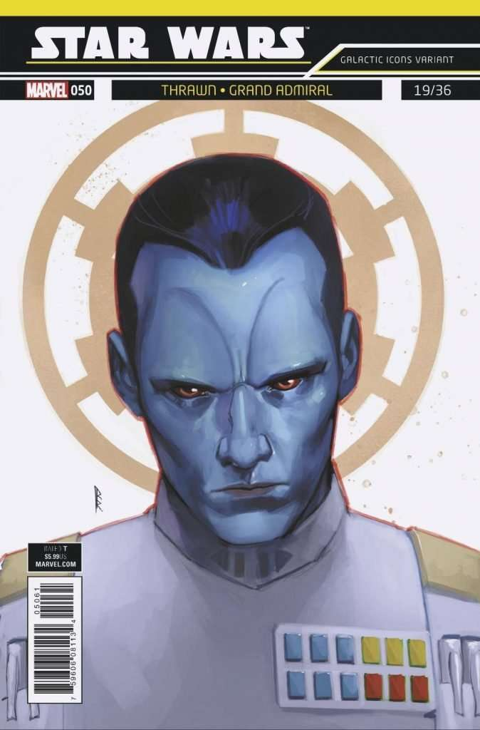 Star Wars #50 Galactic Icons, Thrawn