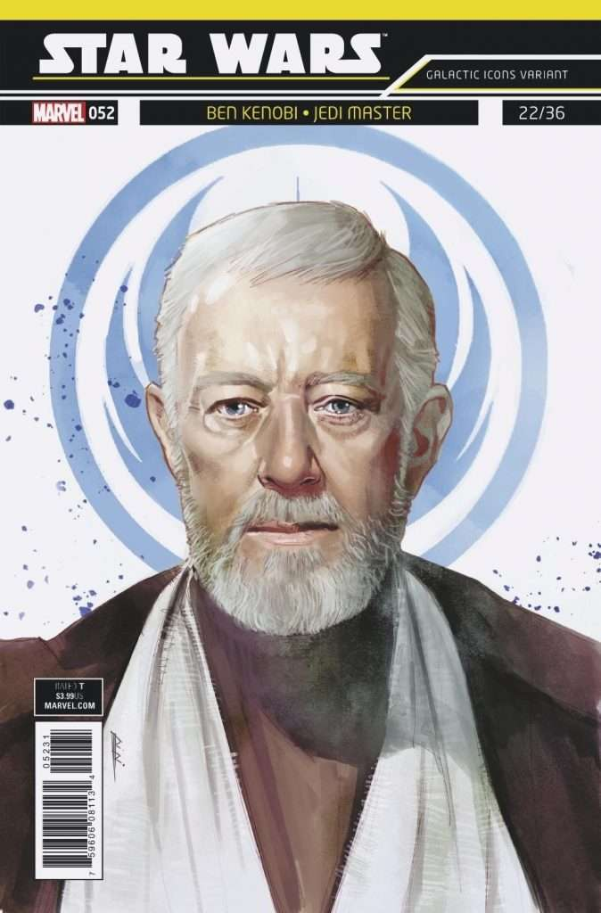 Star Wars #52 Galactic Icons variant