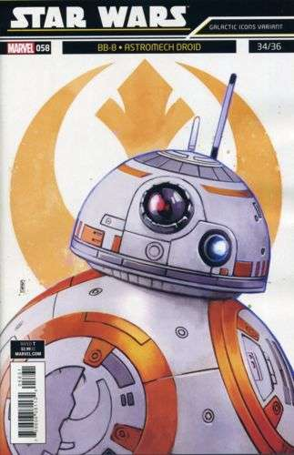 Star Wars 58 galactic icons bb-8
