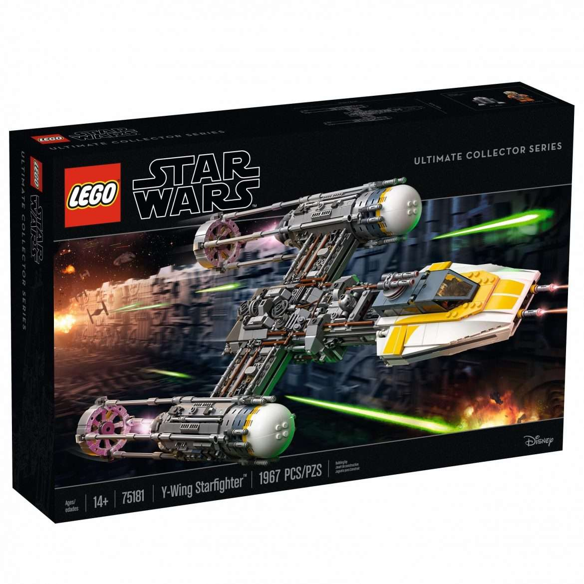 UCS Y-Wing box art