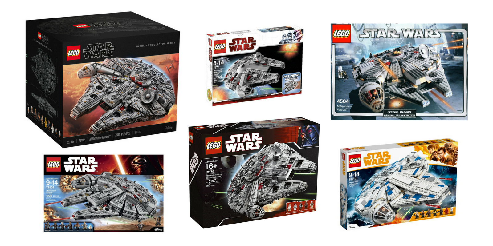 627e535c LEGO Star Wars Millennium Falcon Sets, Which is the Best?