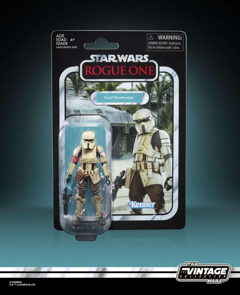 Scarif Trooper vintage collection