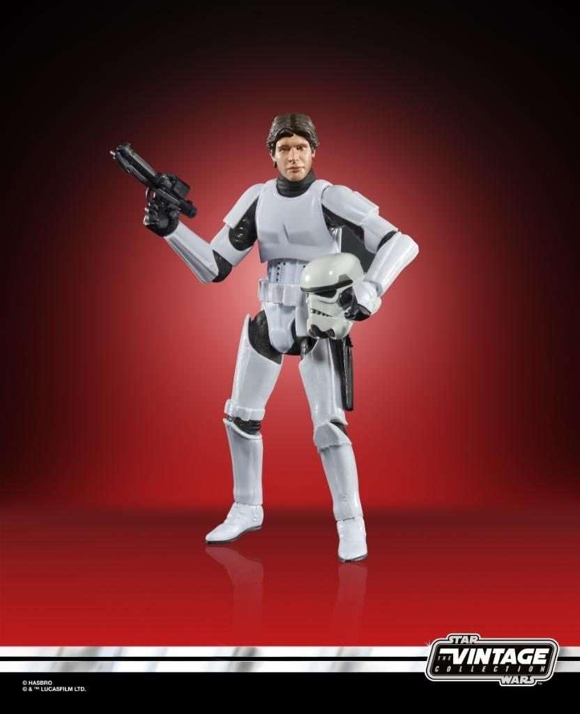 Han solo Stormtrooper, vintage collection