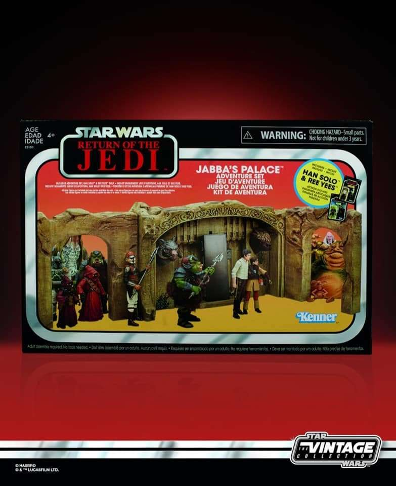 Jabba's Adventure Playset