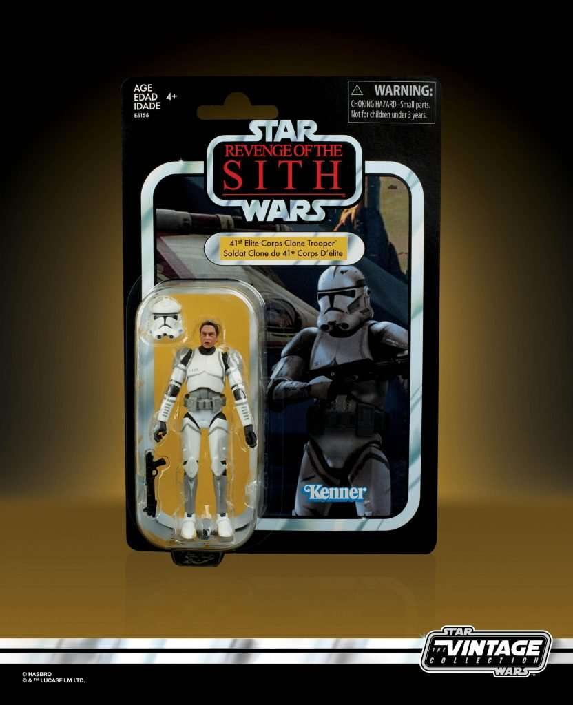 41st elite corps clone trooper vintage collection