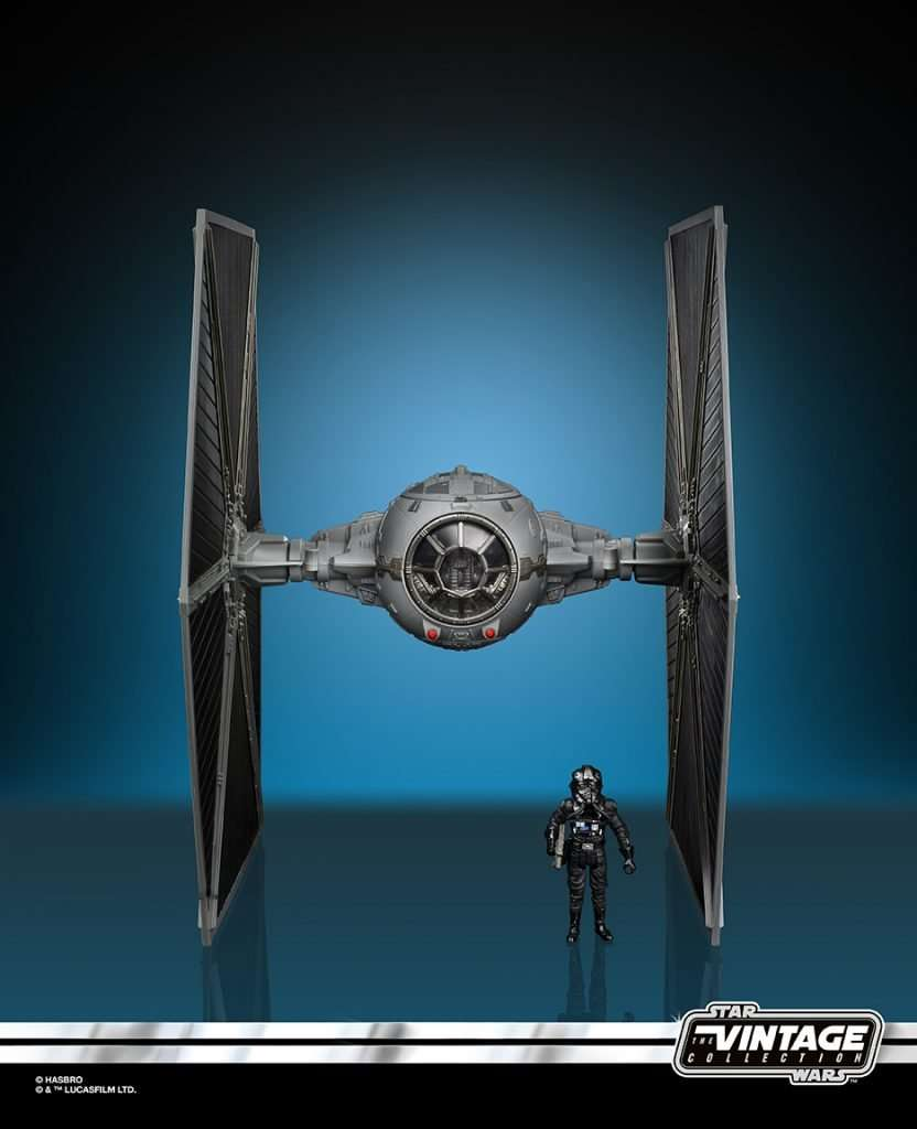 Imperial Tie Fighter with Pilot