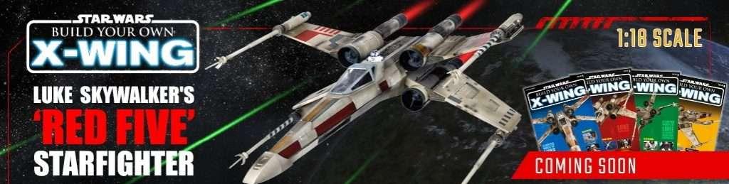 x-wing starfighter model kit