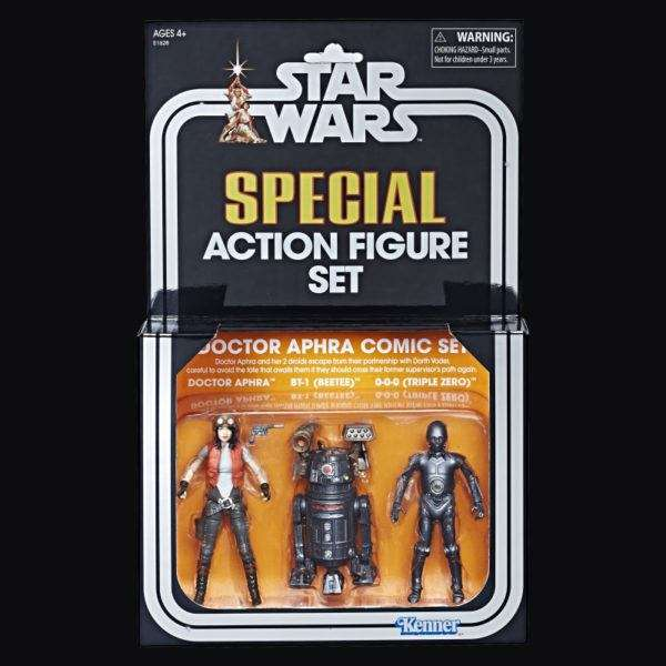 Dr Aphra SDCC 3 pack exclusive