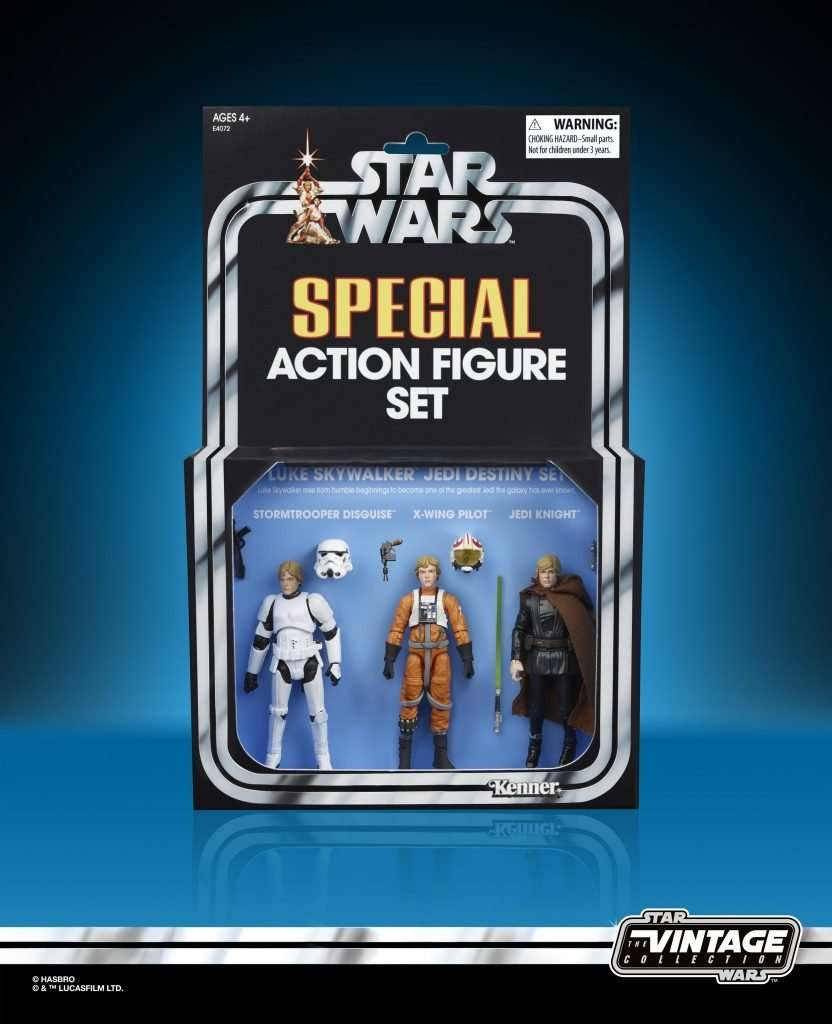 Luke Skywalker 3 Pack