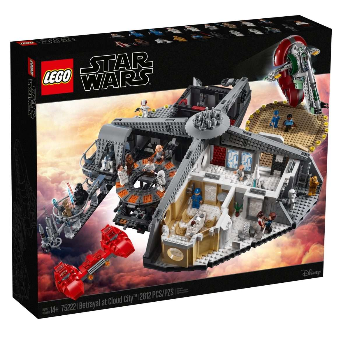 LEGO UCS Betrayal at Cloud City 75222