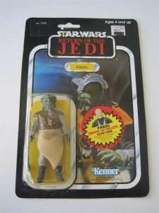 Klaatu vintage Kenner figure