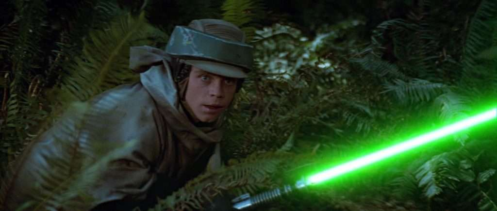Luke Skywalker, Endor fatigues