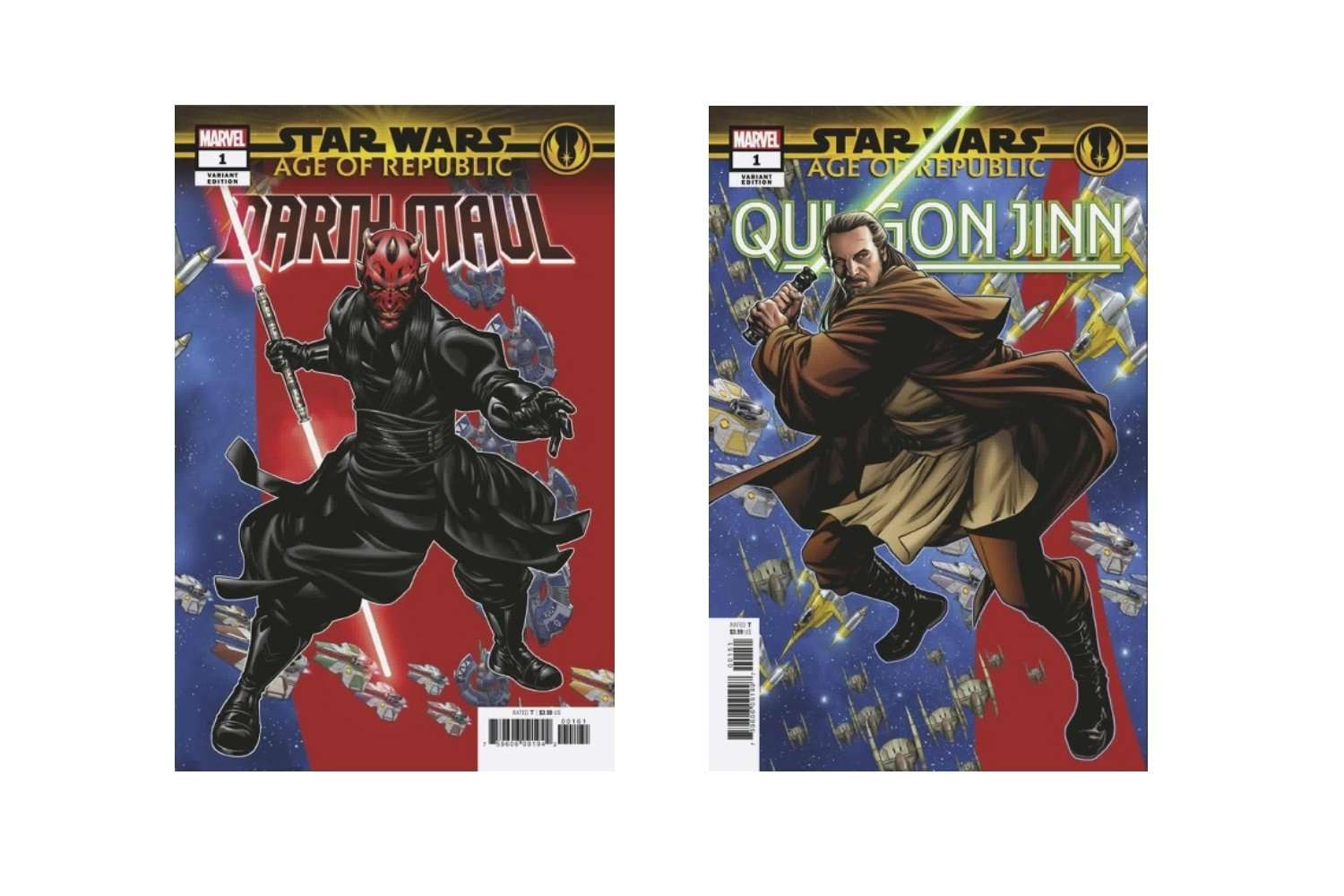 Age of Republic variant covers