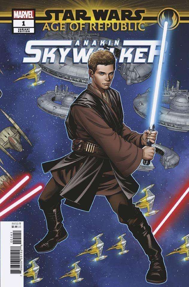 Age of Republic - Anakin Skywalker #1 Puzzle Variant