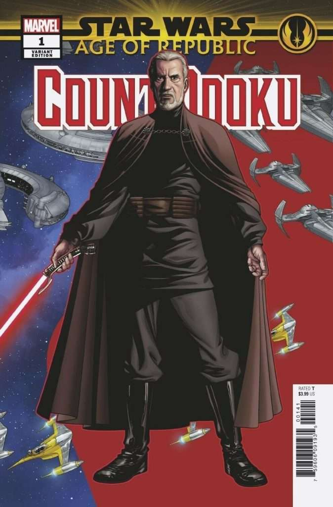 Count Dooku #1 Puzzle Variant