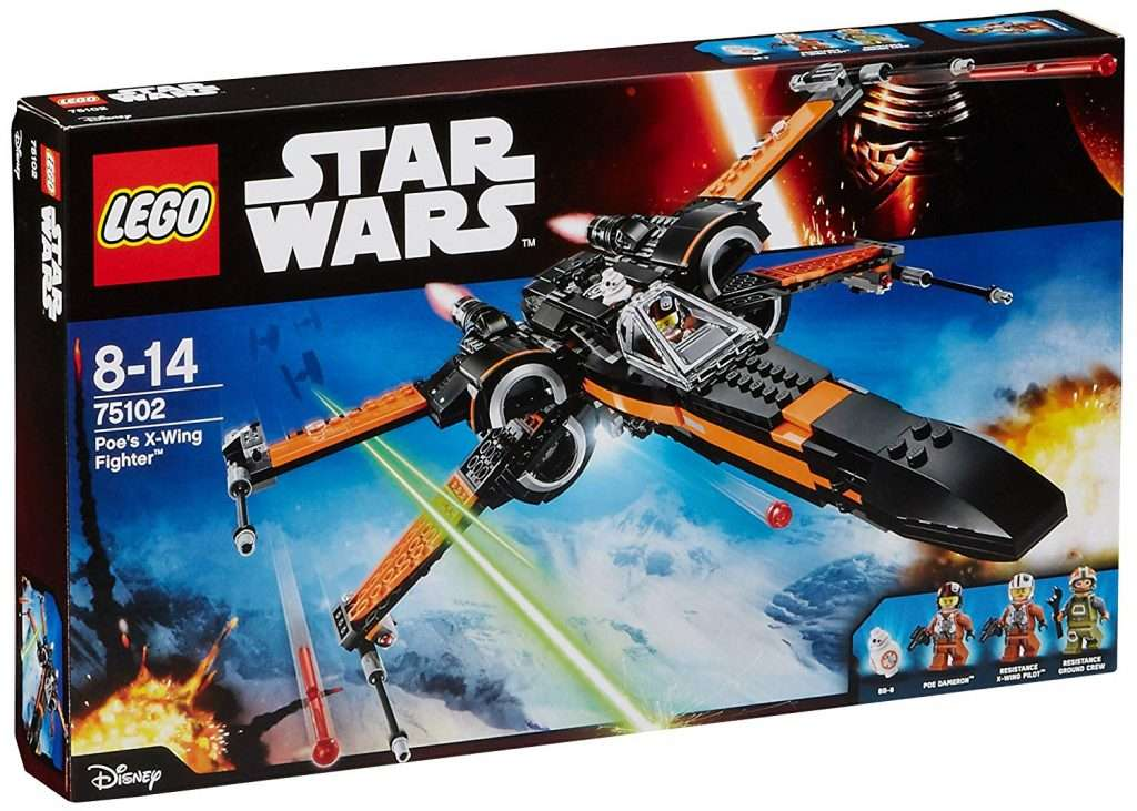LEGO Poe Damerons X-Wing Fighter 75102