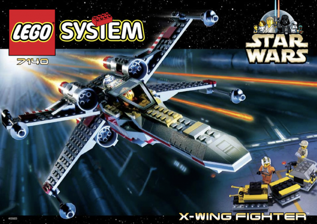 LEGO X-Wing Fighter 7140