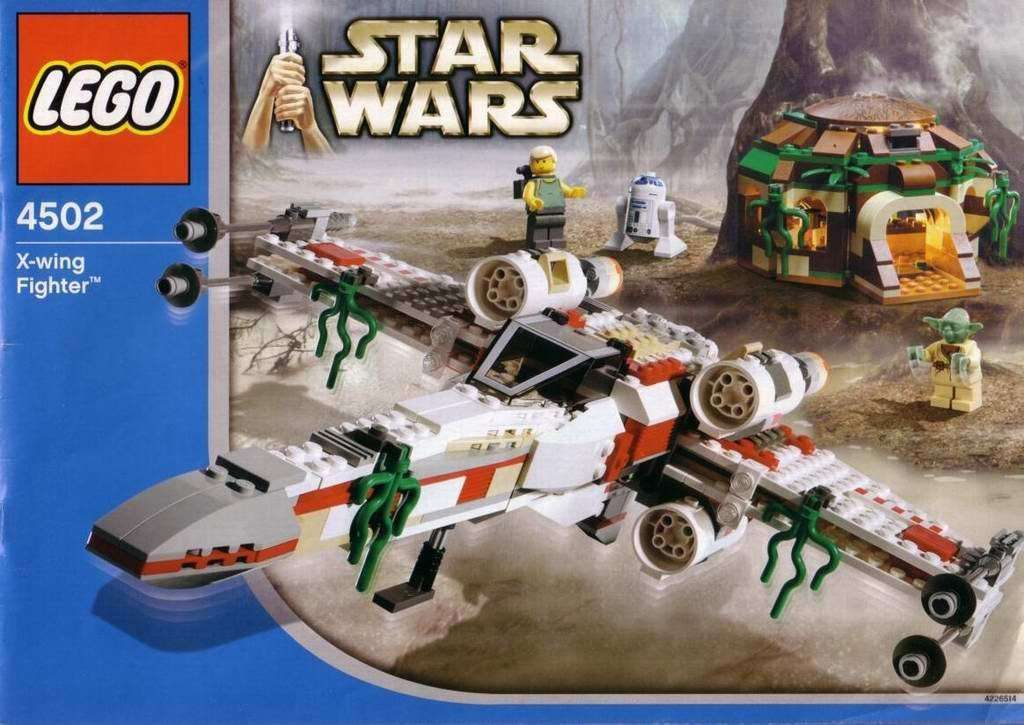 LEGO X-Wing Fighter 4502