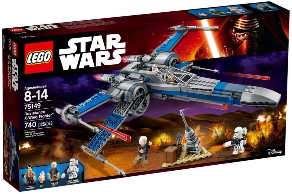 LEGO Resistance X-Wing 75149