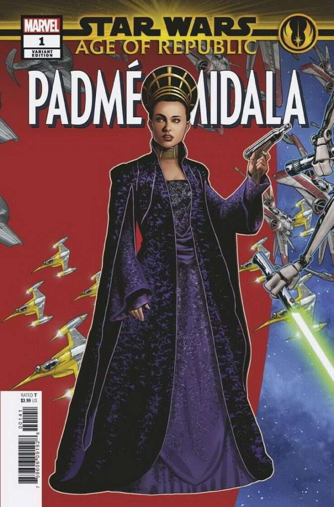 Star Wars Age of Republic: Padme Amidala puzzle variant