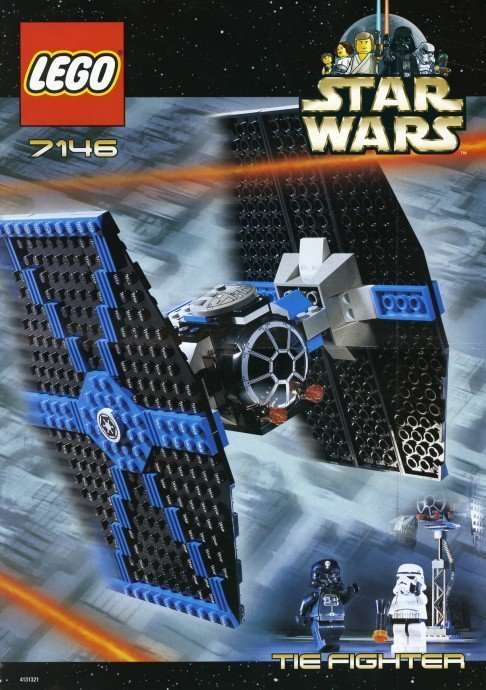 Lego Stat Wars Tie Fighter 7146