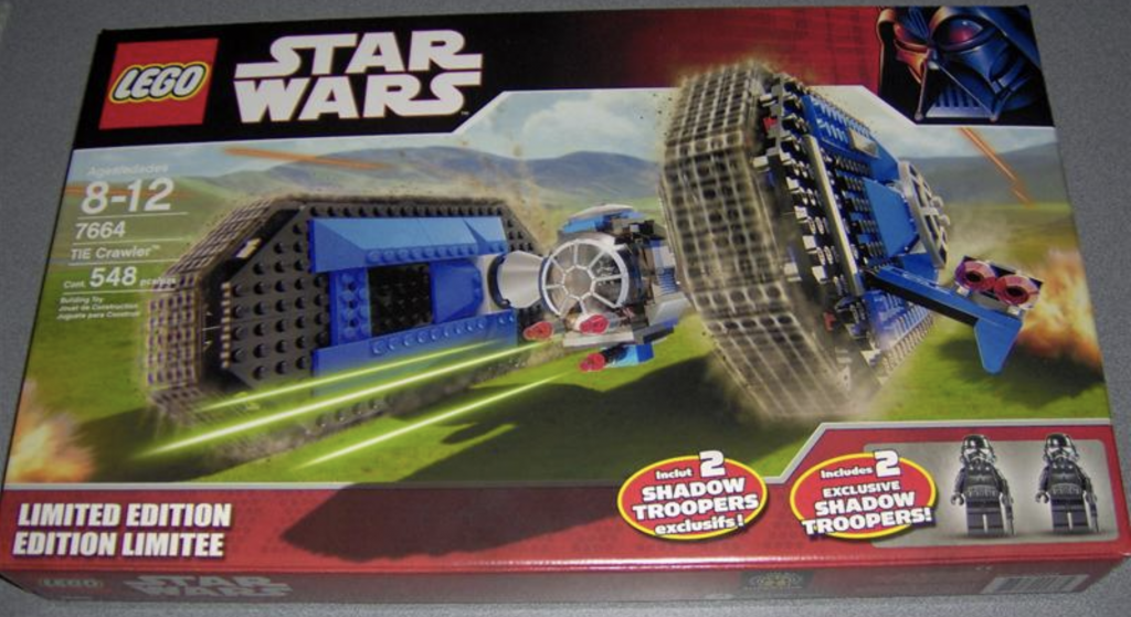 LEGO Star Wars Tie Crawler 7664