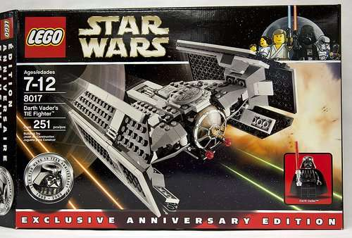Darth Vaders Tie Advanced 8017
