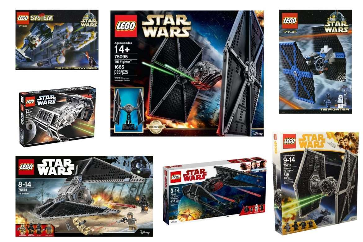 The Best Lego Tie Fighters