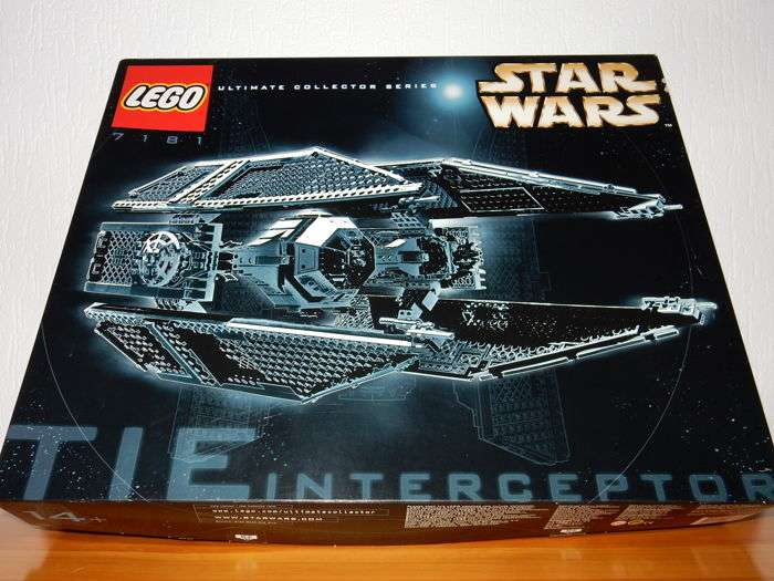 LEGO Stat Wars UCS Tie Interceptor 7181