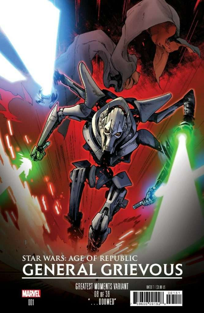 Age of Republic General Grievous Great Moments variant
