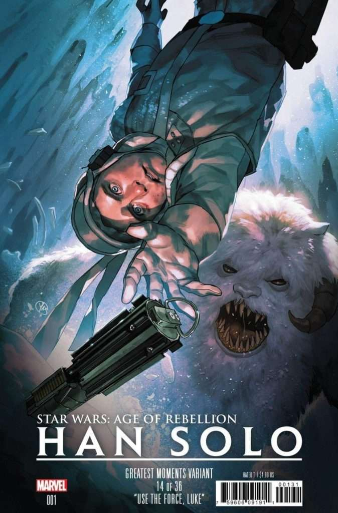 Age of rebellion - Han Solo #1 Greatest Moments variant