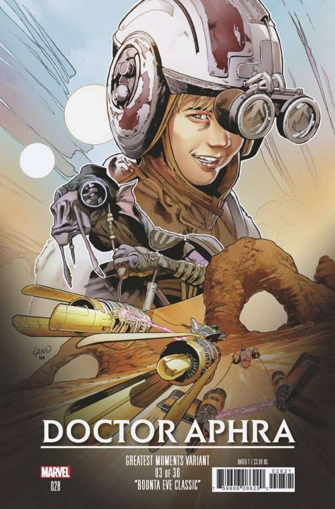 Doctor Aphra 28 greatest moments variant