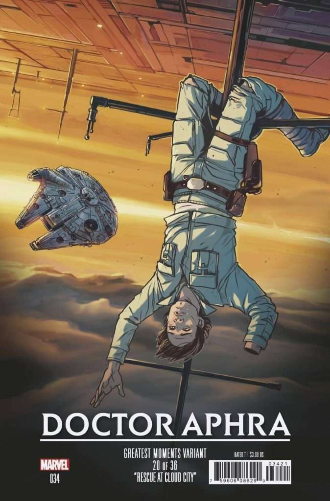 Doctor Aphra 34 greatest moments variant