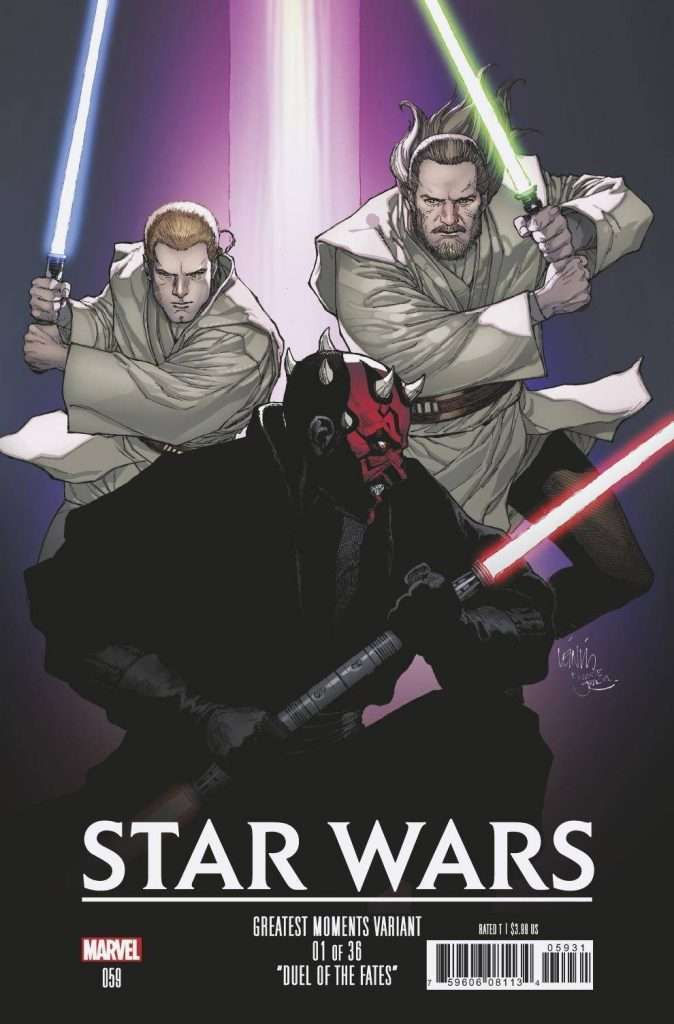 Star Wars 59 greatest moments variant cover