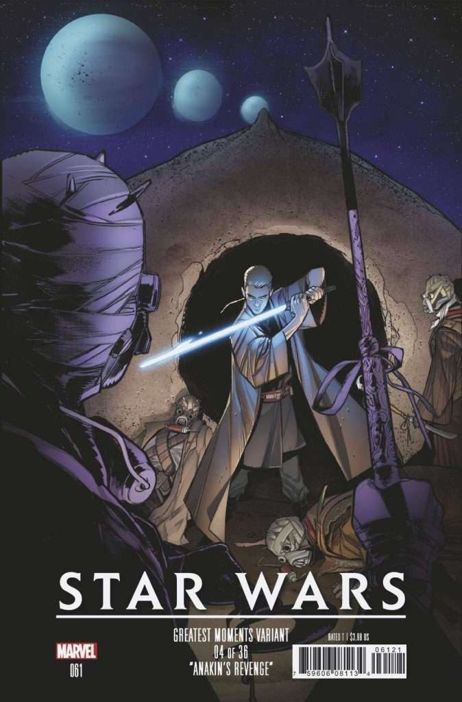Star Wars #61 Greatest Moments variant cover