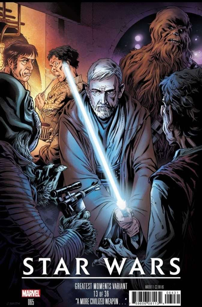 Star Wars #65 greatest moments variant