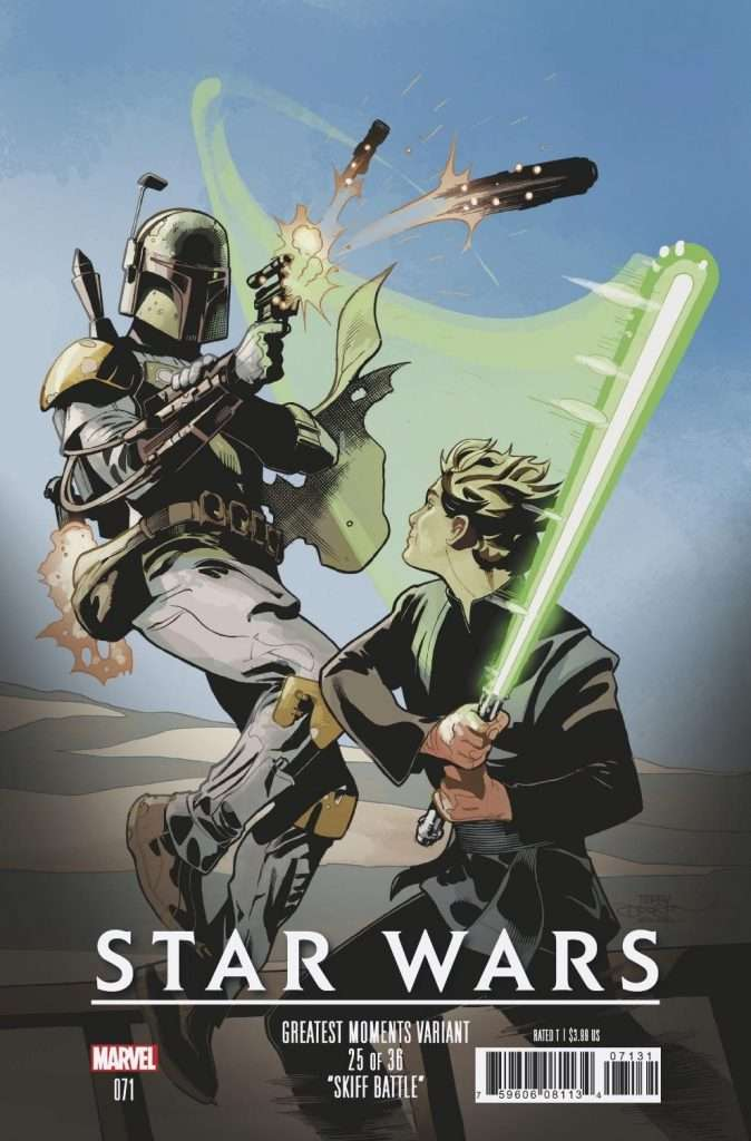 Star Wars #71 greatest moments variant
