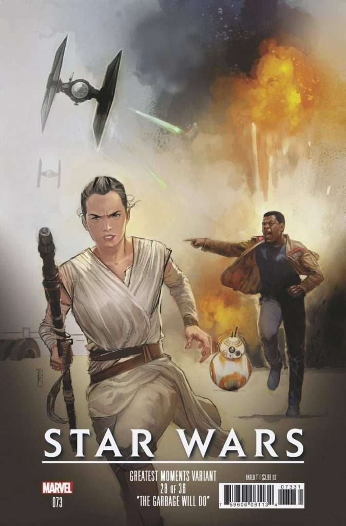 Star Wars #73 greatest moments variant