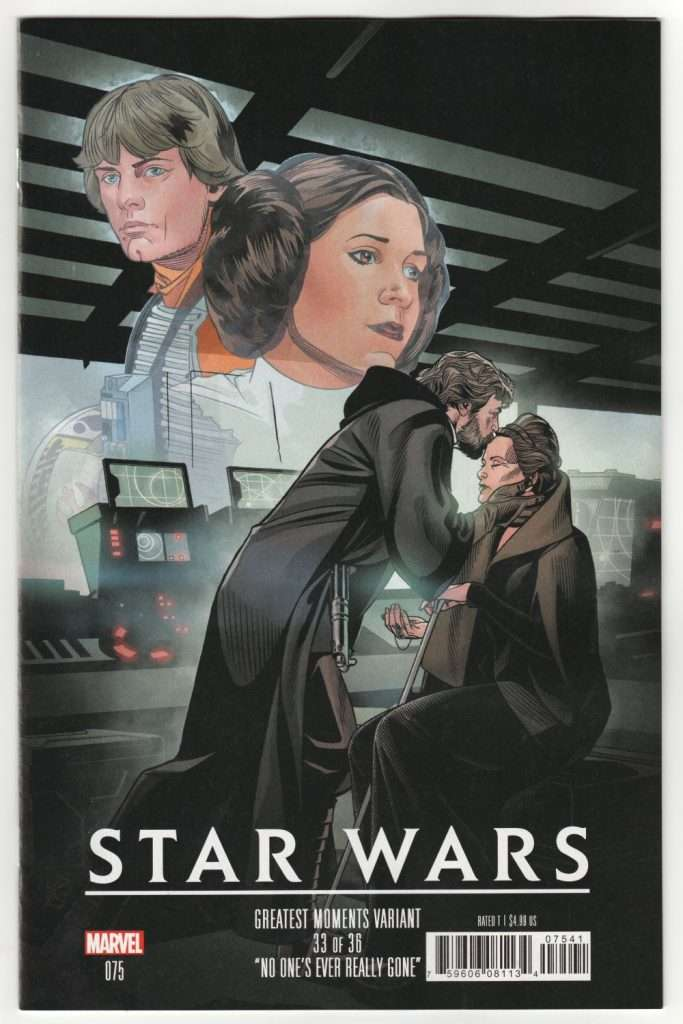 Star Wars 75 Greatest moments variant