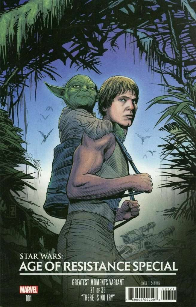 Star Wars Age of Resistance Special, Greatest Moments variant