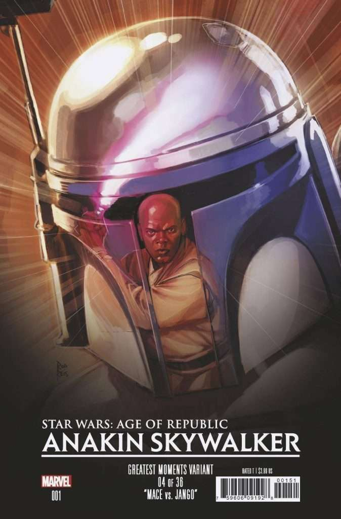 Star Wars Age of Republic: Anakin Skywalker Greatest Moments variant