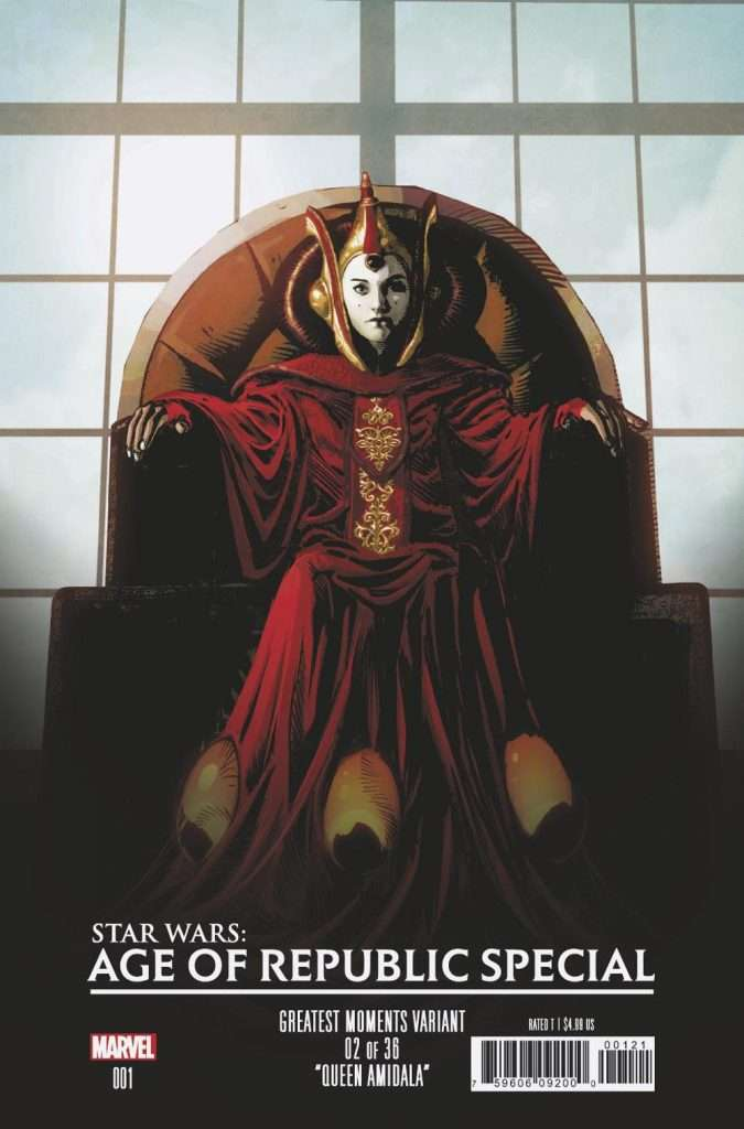 Star Wars Age of Republic #1 Greatest Moments variant cover