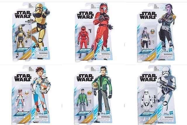 Star Wars Resistance Figures