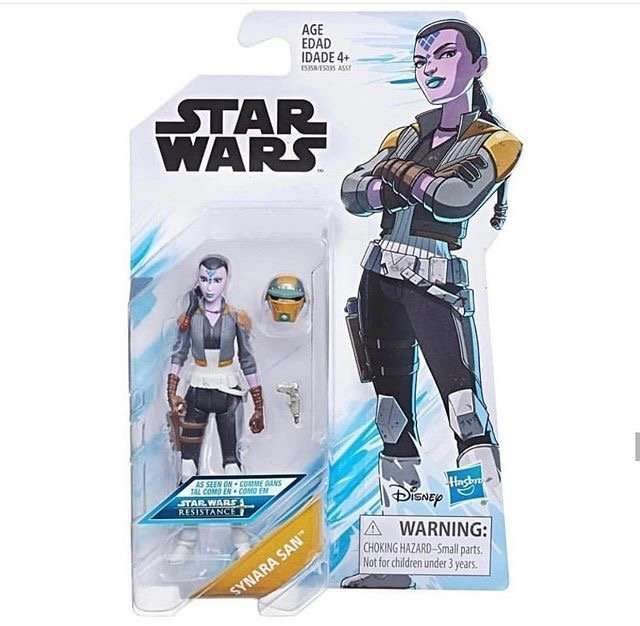 Synara San 3.75 inch action figure
