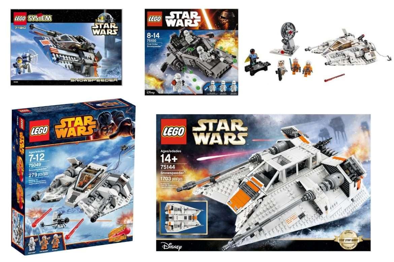 Best LEGO Star Wars Snowspeeder Set | Bossk's Bounty