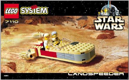 LEGO Star Wars Landspeeder 7110